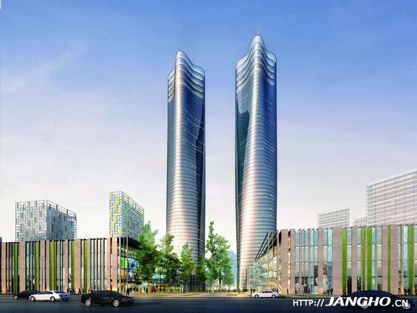 南昌绿地中央广场-江西第一高楼