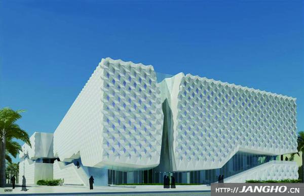 科威特大学艺术与教育学院幕墙工程