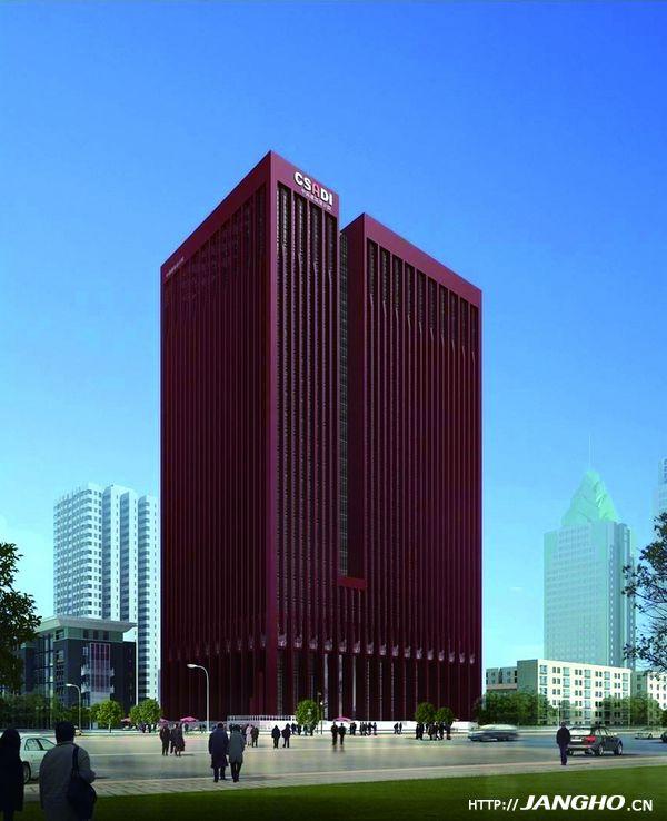 中南建筑设计院科研设计中心项目