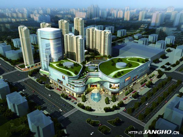 湖北大冶雨润国际广场项目