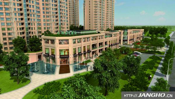 呼和浩特市金泰中心项目C、D座外立面装修工程