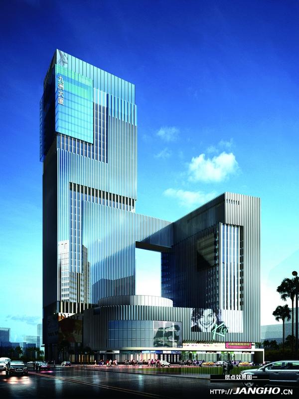 柳州九洲大厦幕墙工程