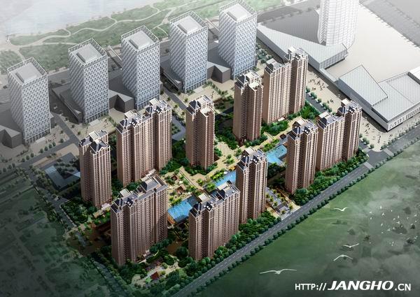 郑州中原国际数码港住宅楼