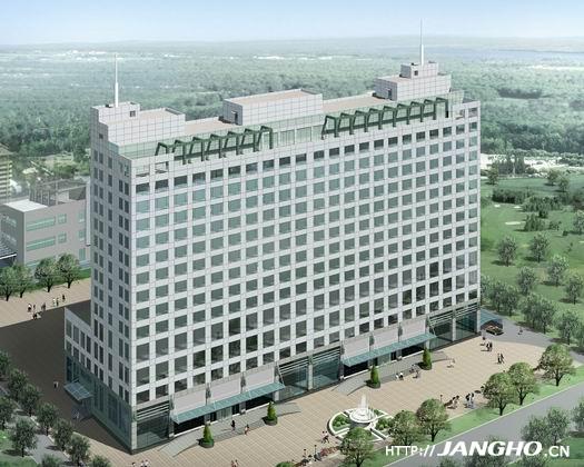 中国人民银行太原中心支行附属楼