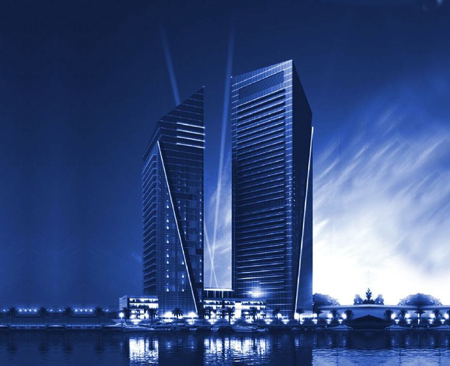 Silverene Twin Towers