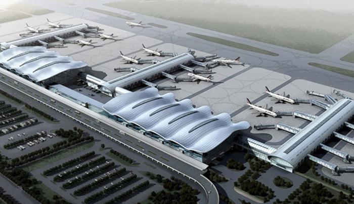 重庆江北机场幕墙工程