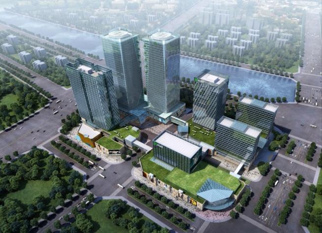 郑州绿地•高铁站前广场