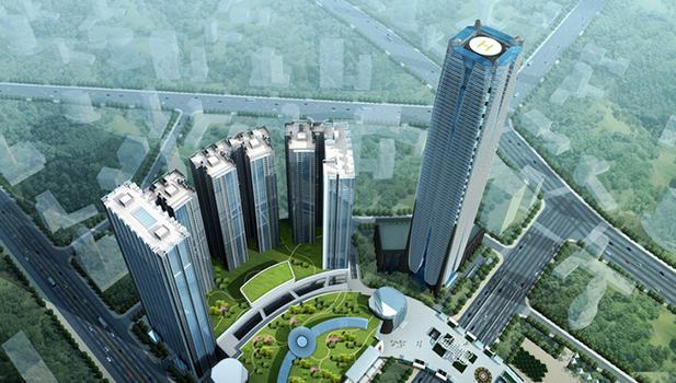 柳州地王国际财富中心-广西第一高楼