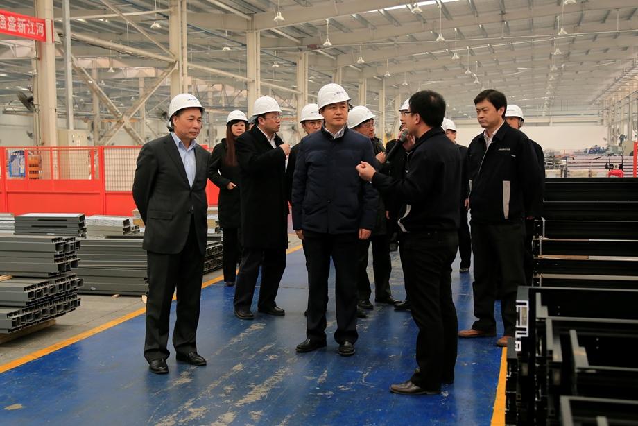 北京市委常委、宣传部长李伟一行莅临江河创建专题调研