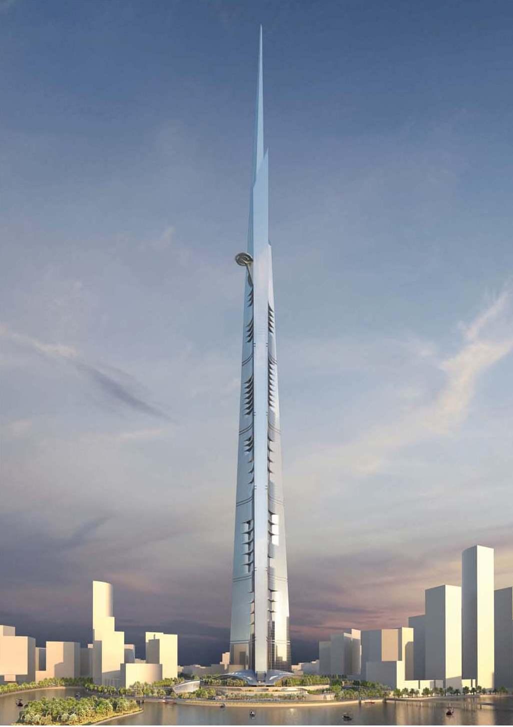 年中完美收官 江河6月斩获世界第一高1007米沙特王国塔