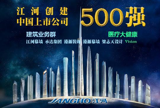 2015《财富》中国上市公司500强发布  江河创建大幅跃升 65名