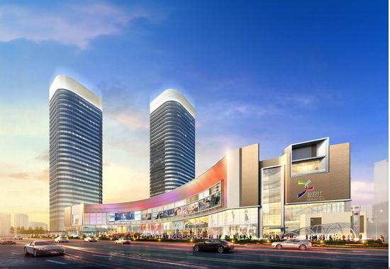 雄踞大上海  缔造新地标 —— 北京承达中标上海世纪汇广场内装工程