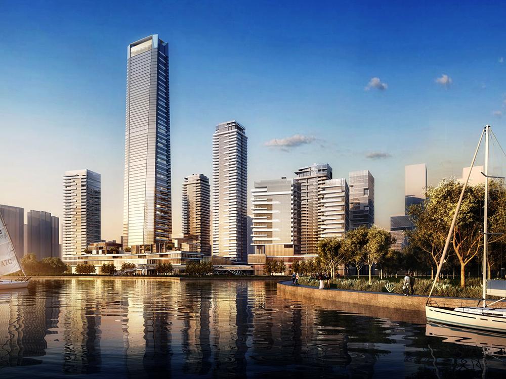 江河中标深圳湾壹号广场项目南地块三期(T7)