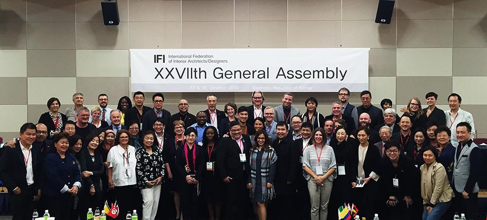 梁志天先生当选国际室内建筑师/设计师团体联盟 (IFI) 主席