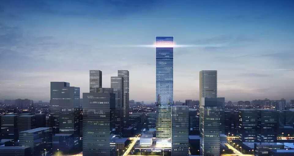 """江河幕墙中标""""西北第一高楼""""等6项区域重点工程"""